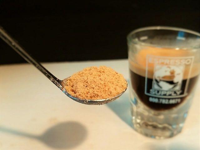 カプセルコーヒー リストレット 砂糖