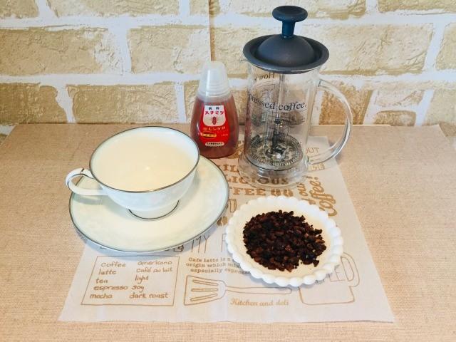 ノンカフェインさつまいもコーヒー_材料