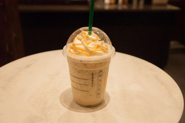starbucks hojichacream frappuccino caramel 2