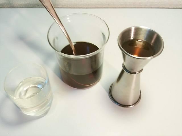 ブランデー×アイスコーヒー ⑤