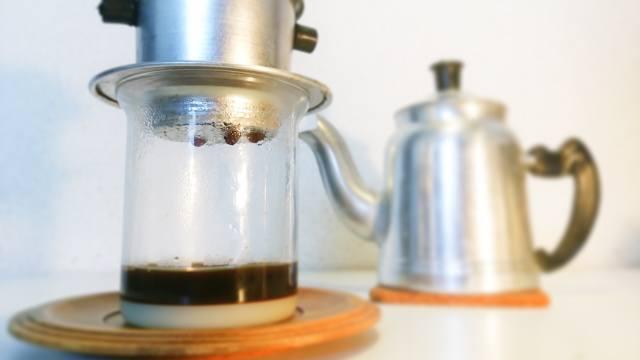 ベトナムコーヒー_抽出器具_使い方_⑭