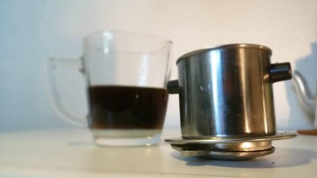 ベトナムコーヒー_抽出器具_使い方_⑯
