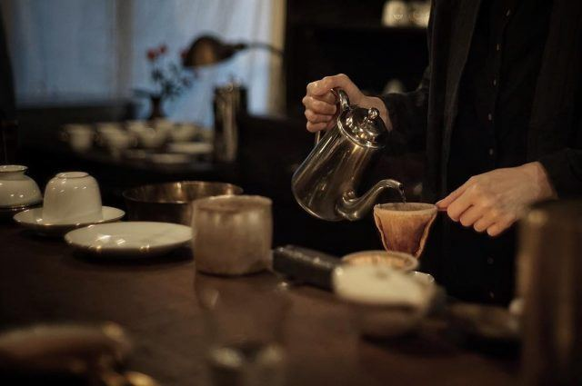 珈琲とチョコレート 蕪木_neldrip