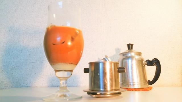 ベトナムコーヒー_カフェ・スア_⑭