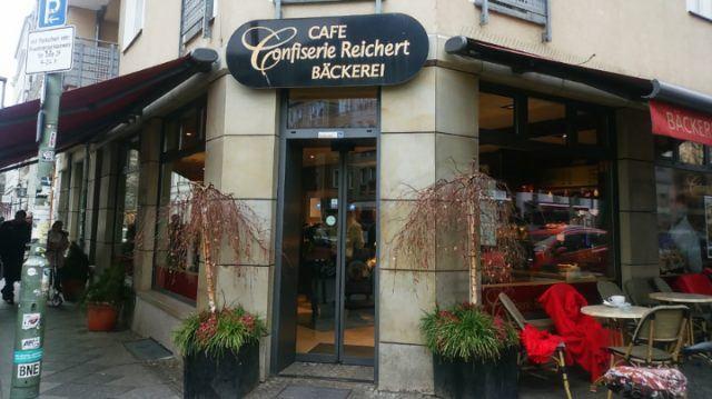 Confiserie Reichert ベルリン おすすめカフェ ⑨