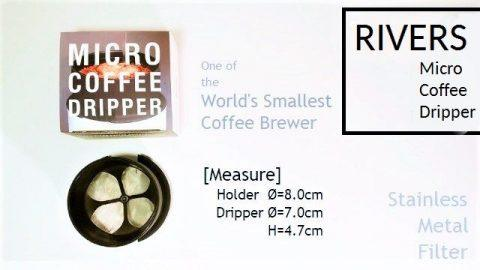 RIVERS MICRO COFFEE DRIPPER タイトル 480x270