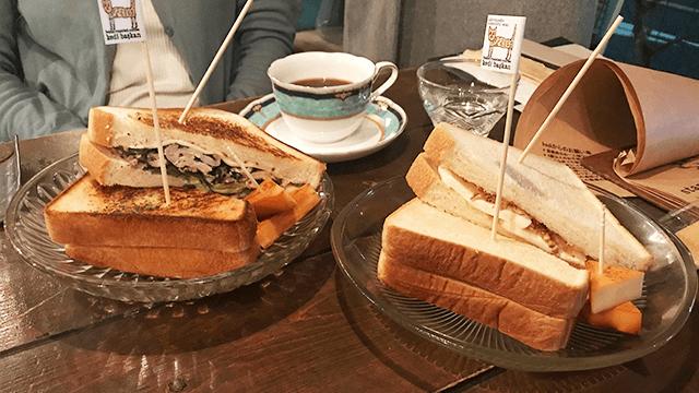 kedibaskan サンドイッチ