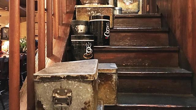 コーヒー豆の缶