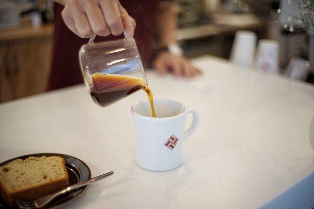 AERU COFFEE STOP drip coffee