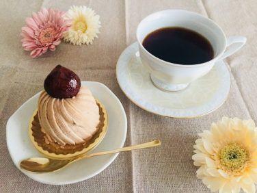 コーヒーとモンブランの相性
