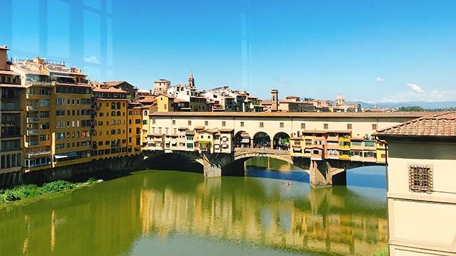 BAMBICaffé ヴェッキオ橋 イタリア フィレンツェ