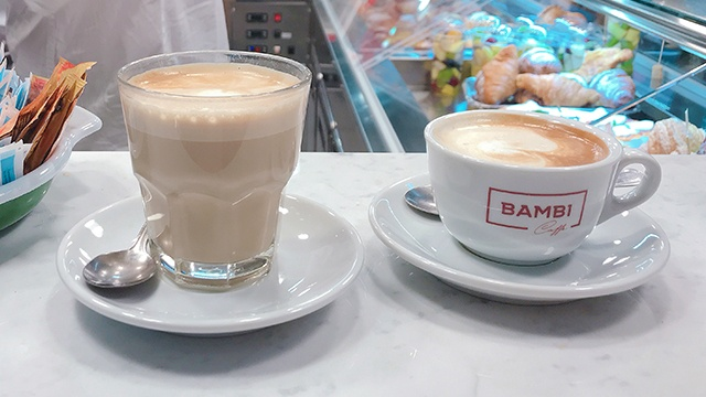 BAMBICaffé コーヒー イタリア フィレンツェ