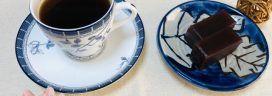 ようかんとコーヒー① 272x96