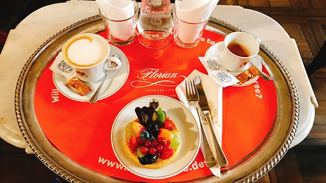 caffeflorian イタリア ヴェネツィア テーブル