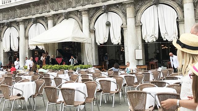 caffeflorian イタリア ヴェネツィア 生演奏