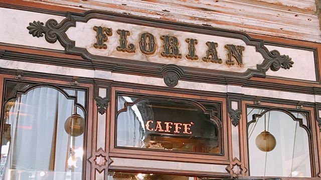 caffeflorian イタリア ヴェネツィア 看板