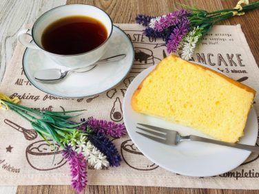 コーヒーとシフォンケーキの相性【フードペアリング】