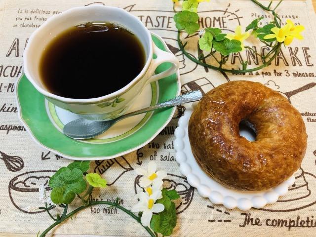 コーヒーとデニッシュ