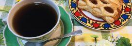 コーヒーとアップルパイ 272x96
