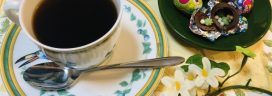 コーヒーとシェルチョコレート 272x96