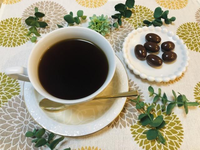 コーヒーとパンワークチョコレート