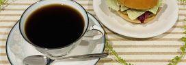 コーヒーとハンバーガー 272x96