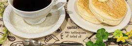 コーヒーとリコッタチーズパンケーキ 272x96