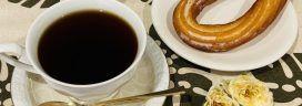 コーヒーとチュロス 272x96