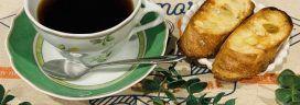 コーヒーとフランスパン 272x96