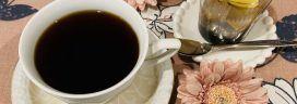 コーヒーとあんみつ 272x96