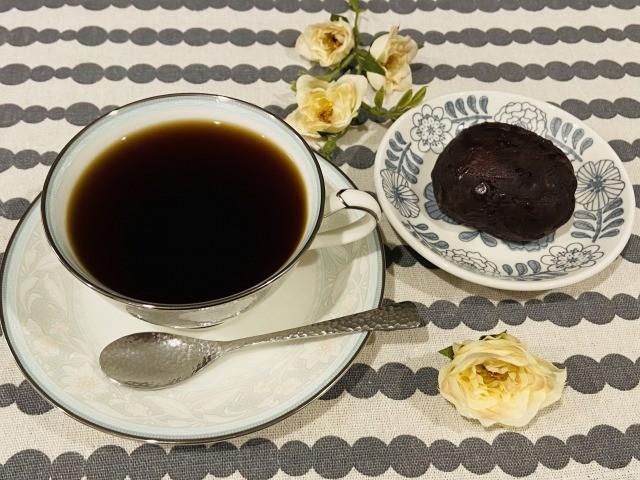 コーヒーとおはぎ