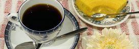 コーヒーとバウムクーヘン 272x96