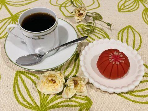 コーヒーとねりきり 480x360
