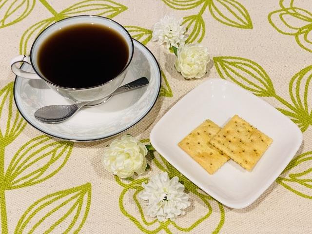 コーヒーとクラッカーの相性【フードペアリング】